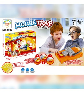 Mouse Trap Steal The Cheese Fun Board Game Kids Family Friends