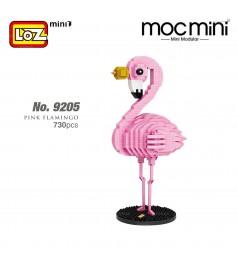 LOZ 9205 MINI Character Cartoon Nano Diamond Creative Brick Pink Flamingo 730pcs