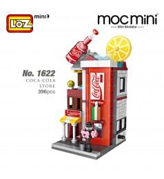 LOZ 1622 MINI Street Nano Diamond Creative Brick Coca-Cola Store 396pcs